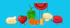 verdura en dibujos