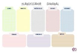 Planificador mod. 4 cuadrículas